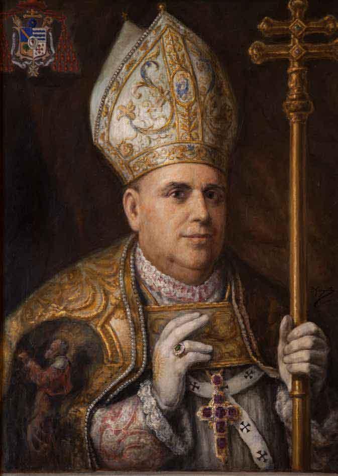 Imagen de Arzobispo don Enrique Almaraz y Santos